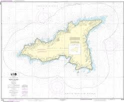Noaa Chart 16434 Agattu Island