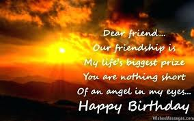 Birthday Quotes For Friend Classy Happy Birthday Quotes For Friend Dreaded Beautiful Birthday Quote