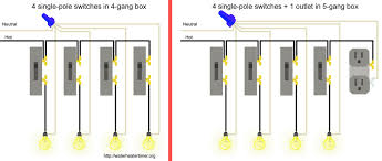 4 switches 1 light hostingrq com 4 switches 1 light 4 gang dimmer switch wiring diagram digitalweb single pole switches in