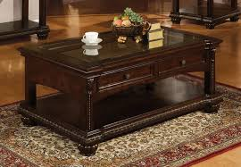 unthinkable cherry wood coffee table with drawer ethan allen choco addict com and end set cherrywood