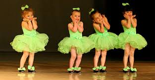 3 year old dancers at christine rich studio chaign savoy