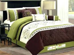 green queen comforter sets hunter brown and set king size c hunter green bedding emerald comforter twin