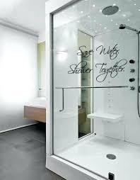 shower door decals glass shower door decals outstanding arizona shower door