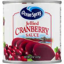 In a saucepan, mix together cranberry sauce, mustard, and lemon juice. Ocean Spray Cranberry Sauce Jellied 8 Oz Instacart