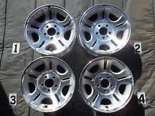 Ford Ranger Wheel Bolt Pattern Delectable Ford Ranger Wheels 48 EBay