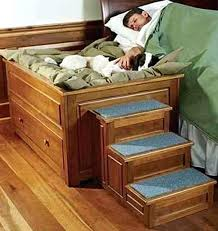 raised dog bed raised wooden