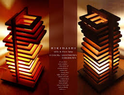japanese style lighting. 2 color light browndark brownlight standinterior lightingmodernindirect lighting designer good design japanese style