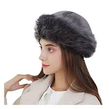 Outfit ideas, editor picks, styling inspiration and face + body tips. Buy Yonsin Faux Fur Trimmed Winter Hat For Women Classy Russian Hat With Fleece Headband For Women Stretch Comfy Ski Cold Weather Caps Online In Kuwait B0826vmkfv