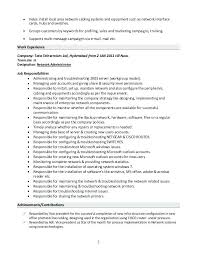 Network Administrator Cover Letter Examples Cover Letter Cover