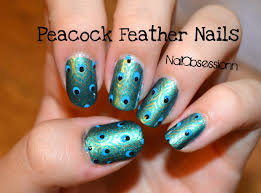 Peacock Feather Nails! (KONAD Stamping) - YouTube