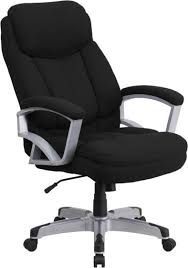 Get 5% in rewards with club o! Heavy Duty 500 Lb Capacity Big Tall Black Fabric Office Chair With Lumbar Support