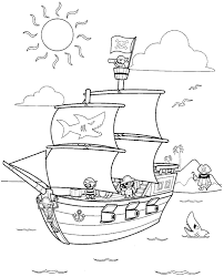 More pirate fun for kids. Free Printable Pirate Coloring Pages For Kids
