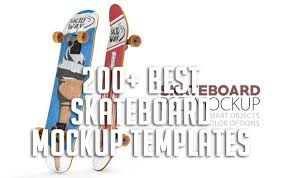 Download them for free in ai or eps format. 200 Best Skateboard Mockup Templates Free Premium