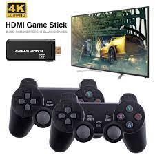 TIVI Mini Video Máy Chơi Game Với 2.4G Điều Khiển Không Dây Gắn trong 3500  Trò Chơi Cổ Điển Retro Tay Cầm Chơi Game HDMI đầu ra|Máy chơi điện tử