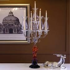 Antike Glas Christbaumschmuck Kristall Kerzenhalter 5 Köpfe Kandelaber Für Tischdekoration Buy Kristall Kerzenhalterkristall Kerzenhalter Für