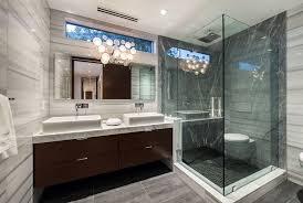 modern bathroom ideas. Brilliant Ideas Modern Bathroom With Black And White Marble Tile Intended Bathroom Ideas I