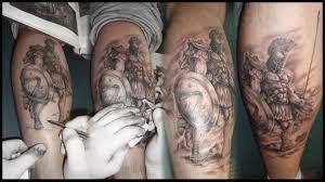тату воин спартанец тату тату и татуировки