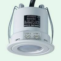 at a glance pir application diagram danlers lighting controls ceiling flush mounted cefl pir spaced every 5 metres to cover the open plan office and control the lights the cefl pir can be wired in groups in parallel