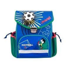 "<b>Школьный рюкзак</b> ""Футбол"", <b>синий</b> бренда Gulliver – купить по ..."