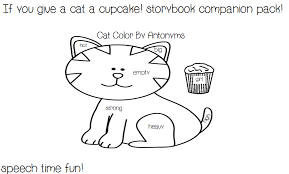 Small Picture if You Give a Cat a Cupcake Clipart 11