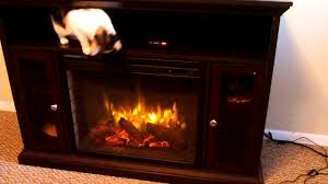 2017 electric fireplace espresso pleasant hearth riley 23 review you