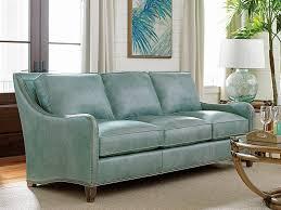 Tommy Bahama Living Room Furniture Tommy Bahama Home Living Room Koko Leather Sofa Ll7212 33