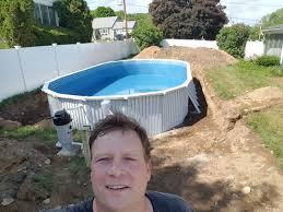 semi inground pool cost. Semi Inground Pools Pool Cost E