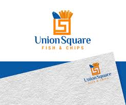 Fish And Chips Design Logo Design For Union Square Fish Chips By Jay Design