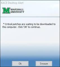 Dell Kace Overview Information Technology Marshall University