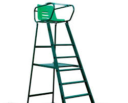 tennis umpire chair court royal deluxe green