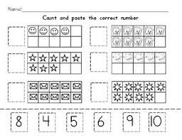 counting tens frame worksheet