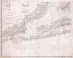 Historical Nautical Charts For Sale Pensacola Bay Florida Geographicus Rare Antique Maps