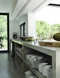 Concrete Kitchen Cabinets Designs