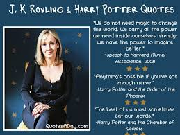 Famous Harry Potter Quotes Stunning Quotes About Jk Rowling On QuotesTopics