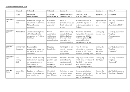 Individual Development Plan Template 10 Free Pdf Word Documents