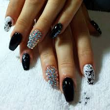 28+ Pretty Bling Acrylic Nail Art Designs , Ideas | Design Trends ...