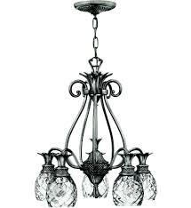 hinkley lighting 4885pl plantation polished antique nickel 22 inch chandelier undefined