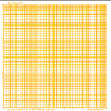 Log Log Graph Paper Amber 1 Cycle Square Landscape Letter