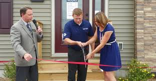 wisconsin homes inc hub city times legacy homes celebrates ribbon cutting