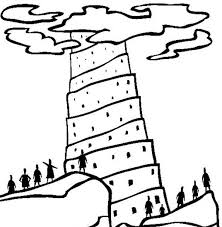 Small Picture Printable Tower of Babel Coloring Pages Coloring Me