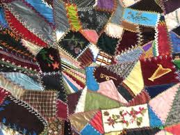What's It Worth?: Victorian-era crazy quilt & The term