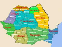 Harta: Harta Romaniei Pe Regiuni Geografice