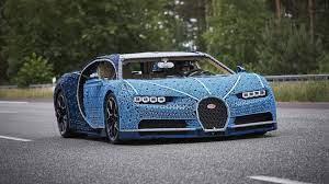 Even the electric motors are lego parts. This Insane Life Size Lego Technic Bugatti Chiron Is Drivable