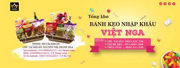 Tổng kho bánh kẹo nhập khẩu Việt Nga - Home