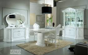 italian white furniture. white italian high gloss dining table and chairs furniture set homegenies