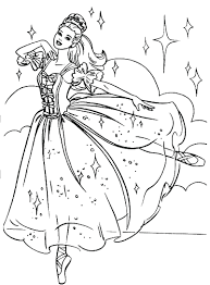 Ballerina Coloring Pages Safewaysheet Co