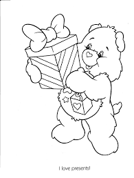 Small Picture Care Bears Colotring Pages