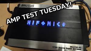 amp test tuesday hifonics brutus elite be1700 1d rated 1700x1 amp test tuesday hifonics brutus elite be1700 1d rated 1700x1