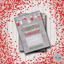 Target Christmas Gift Card Printable - XMAS006 - holiday, gift ...