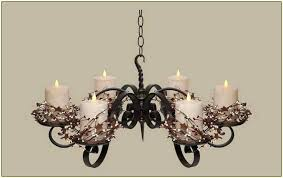 diy hanging candle chandelier hanging candle chandelier non electric